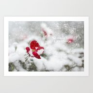 Merry Christmas I Art Print