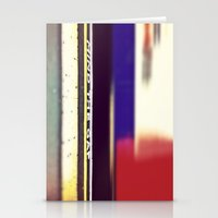 Tube Blur Stationery Cards