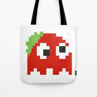 Zombie Ghost Tote Bag