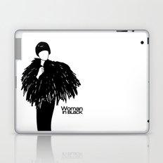Woman in Black Laptop & iPad Skin