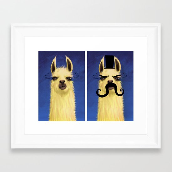 Evil Twin Framed Art Print