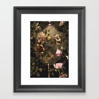 Fan Framed Art Print
