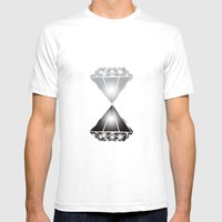 Diamonds Mens Fitted Tee White SMALL