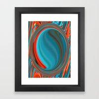 Hot and Cold Mind Framed Art Print