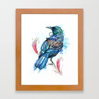 Tui Framed Art Print