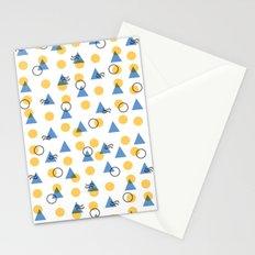 Random Geometric Stationery Cards