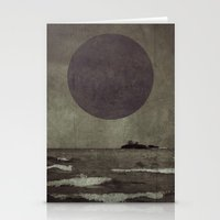 Purple storm Stationery Cards