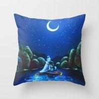 A Wondrous Place Throw Pillow