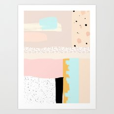 On the wall#3 Art Print