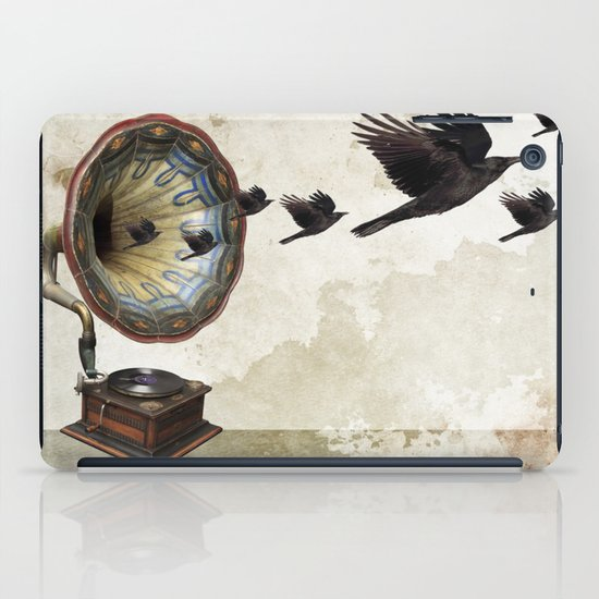 the sound of crows iPad Case