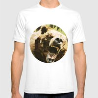 Ursus Arctos Mens Fitted Tee White SMALL