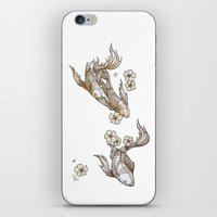Mechanical Koi iPhone & iPod Skin