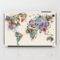 world map  iPad Case