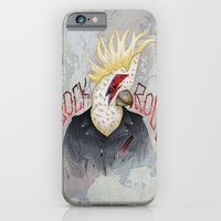 iPhone & iPod Case featuring ROCK & ROLL BIRD!! by TOXIC RETRO