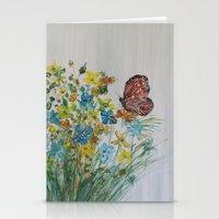 Mahogany Butterfly Stationery Cards