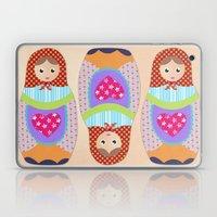 Love Russian Doll Laptop & iPad Skin