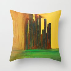 This City, too, will be Taken Throw Pillow