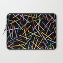 Kerplunk Black Laptop Sleeve