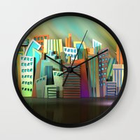City of Color Wall Clock