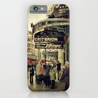 iPhone & iPod Case featuring At The Criterion by Laura George