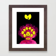 Wu-Tang Purple Haze Framed Art Print