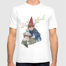 Over the garden wall SMALL Mens Fitted Tee White
