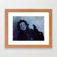 Winter Came  Framed Art Print