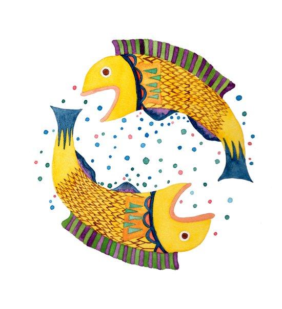 swimming circle Canvas Print