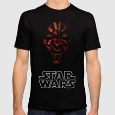 Darth Maul SMALL Black Mens Fitted Tee