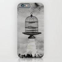 iPhone & iPod Case featuring spaceship jail by sr casetin