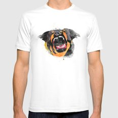 perro SMALL Mens Fitted Tee White
