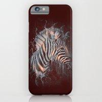 DARK ZEBRA iPhone 6 Slim Case