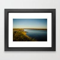 Horn Island, MS Framed Art Print