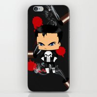 Chibi Punisher iPhone & iPod Skin