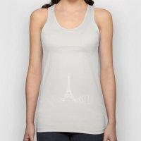 Paris by Friztin Unisex Tank Top