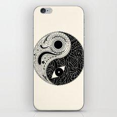 Yin & Yang - [collaborative art with Magdalla del Fresto] iPhone & iPod Skin