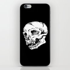 Skull Sketch iPhone & iPod Skin