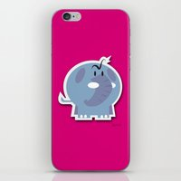 Angry Elefant iPhone & iPod Skin