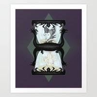Maleficent's Hour Art Print