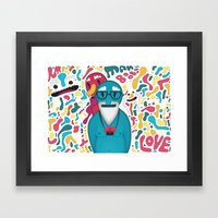 Moobies Framed Art Print