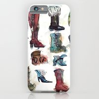 iPhone & iPod Case featuring Boots of the World by Levi Hastings