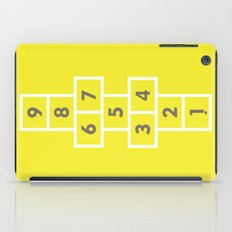 Hopscotch Yellow iPad Case