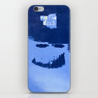 Post No Bills, but smile while doing it iPhone & iPod Skin