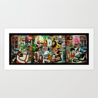 Stickerz  Art Print