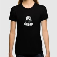 Dawn of Play Womens Fitted Tee Black SMALL
