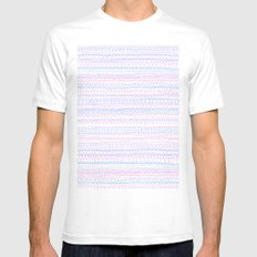 Pattern Mens Fitted Tee White SMALL