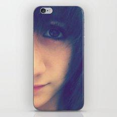 Brown Eyed Girl iPhone & iPod Skin