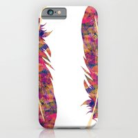 iPhone & iPod Case featuring Feather II by selinabetts
