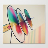 Spin, Spin, Spin Canvas Print