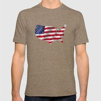 The Star-Spangled Americ… Mens Fitted Tee Tri-Coffee SMALL